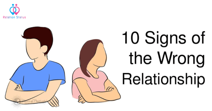Top 10 Indicators You're In The Wrong Relationship