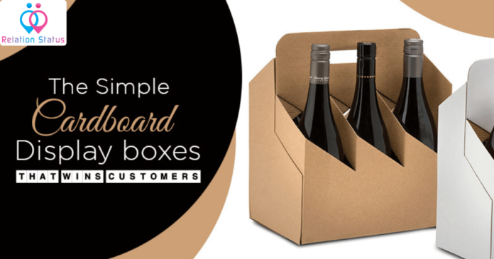 The Simple Cardboard Display Boxes That Wins Customers